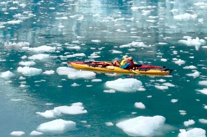 Groenlandia – En kayak